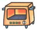 烤箱简笔画画法图解