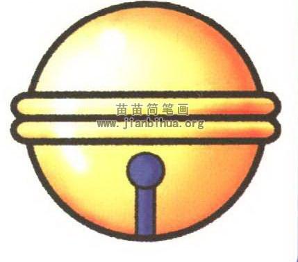 design 圆形钟简笔画内容圆形钟简笔画图片  铃铛简笔画图片大全(5个