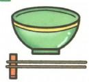碗和筷子简笔画图片大全(5个教程)