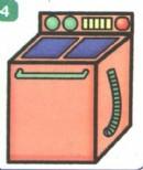 洗衣机简笔画大全(4个教程)