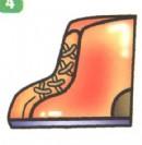 鞋子简笔画图解教程