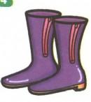 雨靴简笔画画法图解