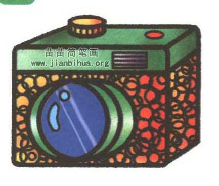 照相机简笔画