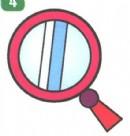 镜子简笔画画法图解