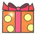 礼物盒儿童画