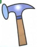 铁锤(锤子)简笔画怎么画图解