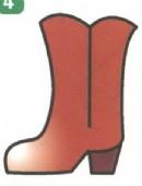 靴子简笔画怎么画图解
