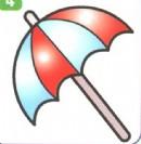遮阳伞简笔画怎么画图解