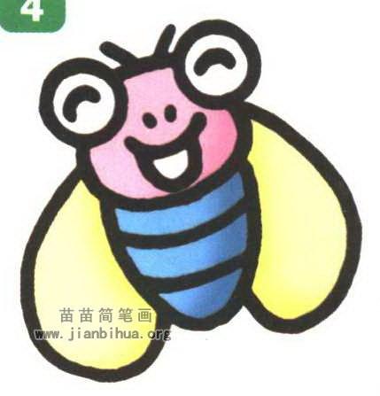 苍蝇简笔画