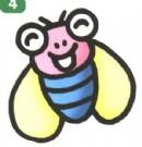 苍蝇卡通简笔画怎么画图解