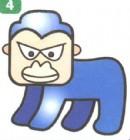 黑猩猩卡通简笔画怎么画图解