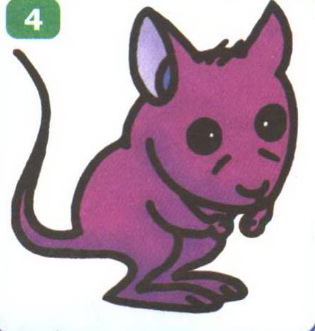 老鼠卡通简笔画怎么画图解