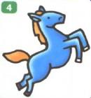 马的简笔画画法步骤图图解