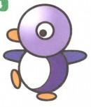 企鹅卡通简笔画怎么画图解