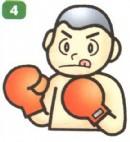 拳击运动员简笔画图解教程