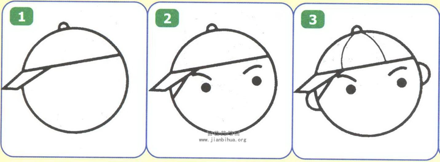 小学生简笔画图解(2个教程)
