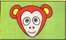 猴子头像简笔画怎么画图解
