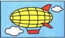 飞艇简笔画简单画法图解