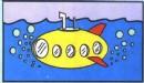 潜水艇简笔画简单画法图解