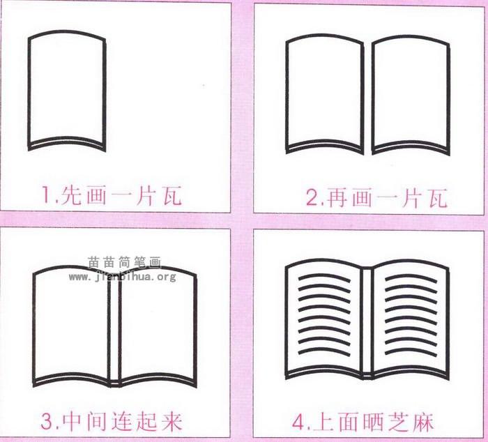 河马卡通简笔画怎么画图解