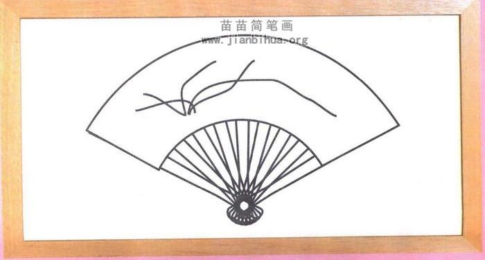 盘子青花瓷花纹简笔画图