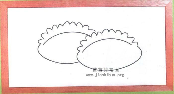 饺子简笔画