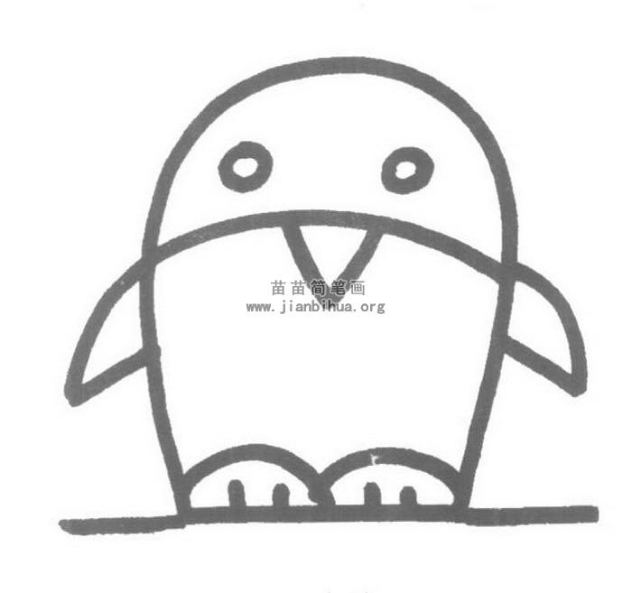 企鹅儿歌和简笔画教程