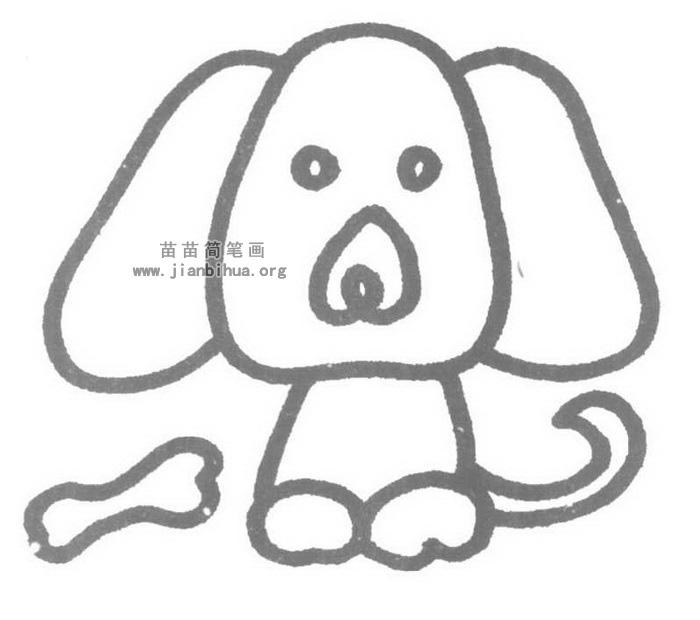 小狗儿歌和简笔画教程