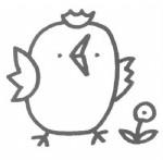 小鸡儿歌和简笔画教程