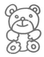 小熊儿歌和简笔画教程