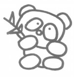 熊猫儿歌和简笔画教程