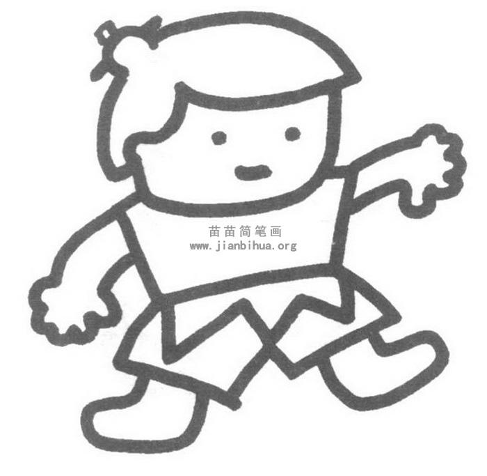 葫芦娃简笔画图片