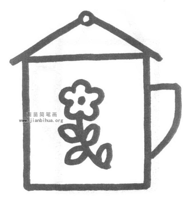 茶杯简笔画怎么画图解教程