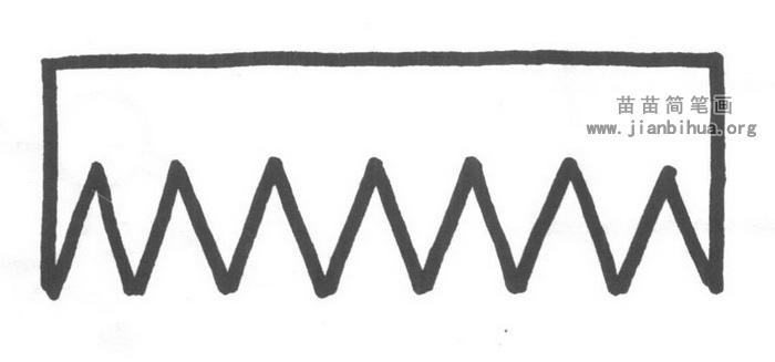 梳子简笔画怎么画图解教程
