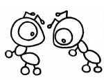 蚂蚁简笔画图解与知识