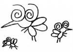 蚊子简笔画图片与知识