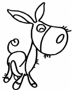 毛驴简笔画图片与知识