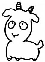 山羊简笔画图片与知识