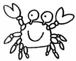 螃蟹简笔画图片与知识