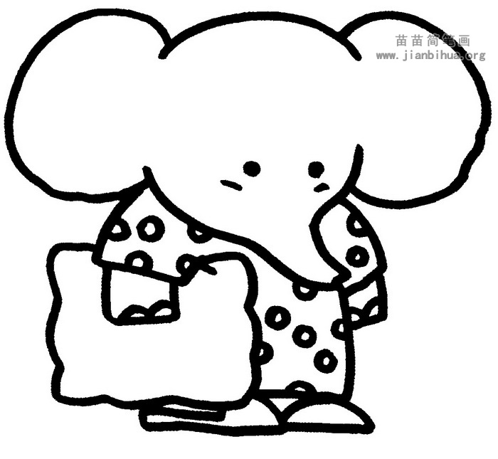 大象简笔画