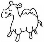 骆驼简笔画图片与知识