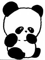 熊猫简笔画图片与知识