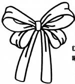 蝴蝶结简笔画图片与知识