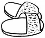 拖鞋简笔画图片与知识