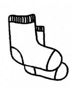 袜子简笔画图片与知识