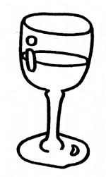 酒杯简笔画图片与知识