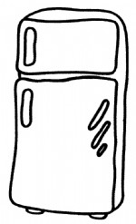 冰箱简笔画图片与知识
