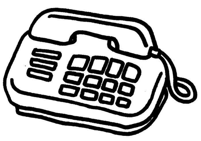 电话简笔画