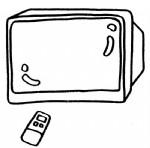 电视机简笔画图片与知识