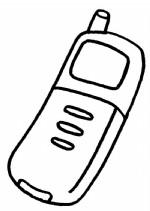 手机简笔画图片与知识